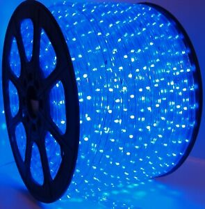 13 MM LED rope lights 2 wire Game room She Shed Man cave. Patio. Deck. Holiday.