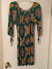 T-Bags Los Angeles Dress Size Medium Long Sleeve