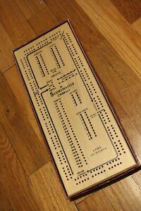 Drueke Model 1150 Once Around Two Track Scoremaster Cribbage Board