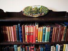"German ""Soest"" 1970s oval wooden wall plaque vintage art souvenir ~ Prop/Display"
