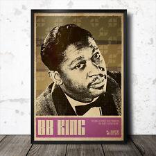 B.B. KING Blues ART POSTER HOWLIN 'WOLF JOHN LEE HOOKER Lead Belly Muddy Waters
