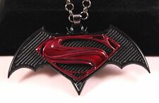 Batman Vs Superman Alloy Pendant Chain/Necklace w/Free Jewelry Box/Shipping