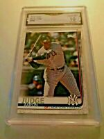 AARON JUDGE 2019 Topps #150 GMA Graded 10 Gem Mint