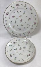 More details for vintage saucer plate thomas germany floral design china