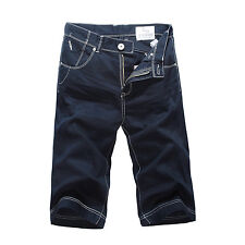 NEW MENS FOXJEANS KNEE-LENGTH SHORTS-SIZE 30