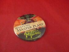 Tales of Monkey Island Le Chuck  Employee Promotional Button Pin Promo Pinback