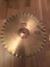 Vintage paiste 2002 sound edge Hi Hats 15 Inch John Bonham !in Good Condition