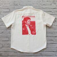 2017 Supreme Michael Jackson Button Down Shirt Size L