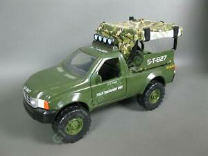 COMPLETE 1999 Lanard The Corps Mission Vehicle Field Transport Unit Pickup Truck