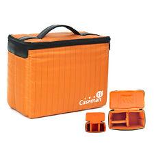 Caseman DSLR Insert Padded Camera bag big lens Protect Divider Partition Case 2A