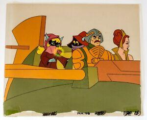 Man-At-Arms + Teela + Orko, Original He-Man Animation Cell, Episode MU 106