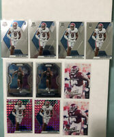 2020 MOSAIC PINK CAMO PRIZM KENNETH MURRAY RC LOS ANGELES CHARGERS 10 Card Lot