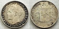 PESETA ALFONSO XIII 1900* 19-00 S/C- TODO EL COLOR Y BRILLO ORIGINAL