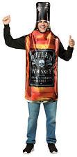 Whisky Bottle Get Real Adult Costume One Piece Tunic Halloween Rasta Imposta