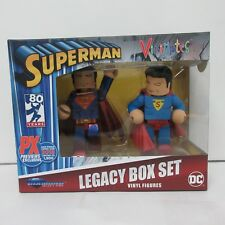 DC Comics Vinimates Superman 80th Anniversary SDCC 2018 Exclusive Two-pack NEW