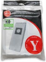 Hoover Type Y Allergen Bags, for WindTunnel Vacuum Cleaners, 4010100Y, 3/Pack