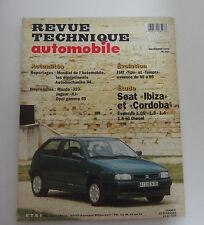 Revue technique automobile RTA 567 seat ibiza et cordoba essence & diesel