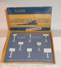 American Flyer BRAND NEW Rare 31 Railroad Sign Set Original OB