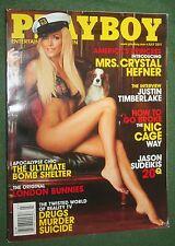 Playboy July 2011 Crystal Hefner POM Jessa Hinton Justine Timberlake interview