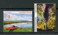 Iceland 2018 MNH Tourist VII Kayaking Kajakferdir 2v Set Tourism Stamps
