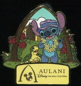 DCL DVC Vacation Club Aulani Vacation Club Villas Stitch Disney Pin 119902