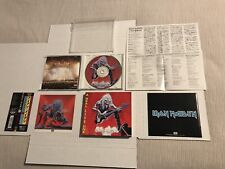 Iron Maiden-Real Live One-*1993 JAPAN IMPORT CD* COMPLETE, Sticker, OBI, Inserts