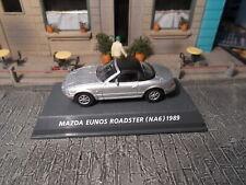Konami Mazda Eunos Roadster 1/64 Silver