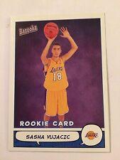 2004-05 Bazooka #202- Sasha Vujacic - Los Angeles Lakers (RC)