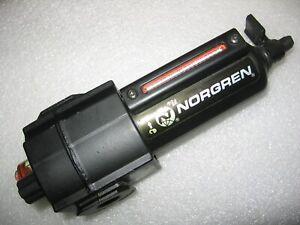 """Norgren Excelon Micro-Fog 3/8"""" Air Line Oil Lubricator L73M-3AP-QDN - 250 psi"""