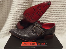 JEFFERY WEST Flaming Buckle Rochester Boots 🌍 Size 8.5 🌎 RRP £365🌏UK FREEPOST