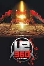 "U2 ""360 DEGREES TOUR (360° AT THE ROSE..)"" BLU RAY NEU"