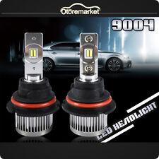HB1 9004 High Power LED Conversion Headlight Kits Dual Hi/Low Beams Bulbs 6500K
