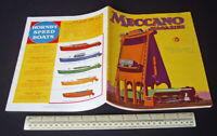 Vintage 1933 Meccano Magazine. Advertising Hornby Speedboats, Meccano Sets etc