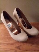 Brash Beige High Heel Pumps - new size 11