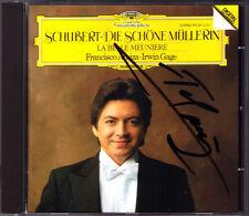 Francisco ARAIZA Signiert SCHUBERT Die schöne Müllerin D.795 Irwin GAGE CD 1985