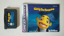 GANG DE REQUINS - SHARK TALE - NINTENDO GAME BOY ADVANCE - AVEC NOTICE