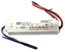 New Mean Well LPV-100-12 LED Power Supply 100W 12V