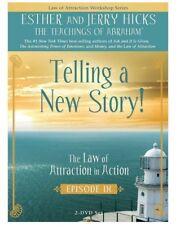 Telling A New Story, Teachings of Abraham, Esther Hicks, IX, 2- DVD set