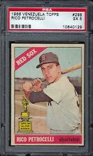 1966 Venezuela Topps #298 Rico Petrocelli PSA 5 dist. in Venezuela Only Red Sox