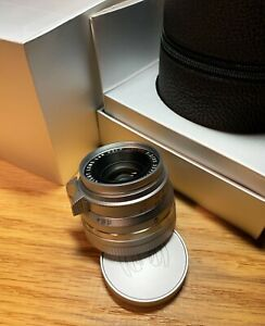 Light Lens Labs 35mm F2  V3LC Chrome For Leica Summicron 8 Element