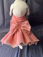 Designer Dog Dress, Emma Rose Designs, Hand Made