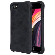 Handy Hülle Alcantara iPhone 7 / 8 / SE 2020 Case Schutzhülle Wildleder Cover