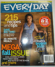 Everyday Magazine With Rachael Ray 215 Brand New Recipes September 2008 122914R