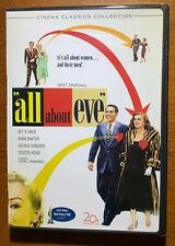 All About Eve 1950 (Dvd, 2008, 2-Disc Set, Bette Davis) Mankiewicz