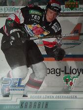 208 Ladislav Karabin Revier Löwen Oberhausen DEL 2000-01