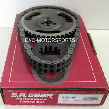SBC SB Chevy 350 OE Roller Cam .250 Double Roller Timing Chain 9 Keyway SA Gear