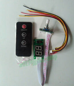 Double Digital Display Volume Control Potentiometer Remote For Amplifier 5V~12V