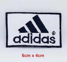 Adidas Sports Abzeichen Weiß Eisen Aufnäher Bestickt Aufnäher