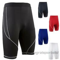i-sports Base Layer Shorts Mens Womens Compression Performance Fit For Running