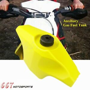 Dirt Bike 0.6 Gal Front Auxiliary Fuel Tank For Yamaha Honda CRF WRF DRZ 400S/M